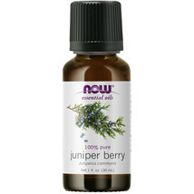 NOW Foods Juniper Berry Oil, 1 oz. MADE IN USA. FRESH - $41.86