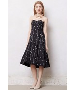 NWT ANTHROPOLOGIE JEWELED DRAGONFLY DRESS by FLOREAT 4 - $90.24