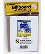 Blair Line~Billboard~2524~Fly TWA~Airlines~Laser-cut Wood Kit~HO,S,O-Scale - $12.00