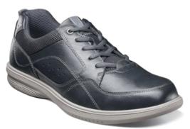 Nunn Bush Kore Walk Moc Toe Oxford Shoes Navy 84811-410 - $79.99