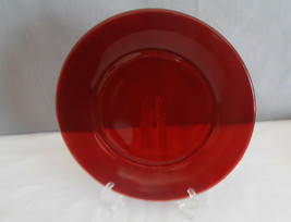 """Vintage Royal Ruby Red Depression Glass  Luncheon Plate 8"""" Anchor Hocking - $8.95"""