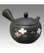 Tokoname Kyusu teapot - SHOHO - Matsuki Flower tree 340cc/ml - ceramic f... - $79.46