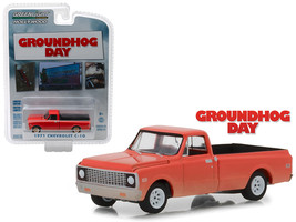 "1971 Chevrolet C-10 Pickup Truck Orange ""Groundhog Day\"" (1993) Movie \... - $13.18"