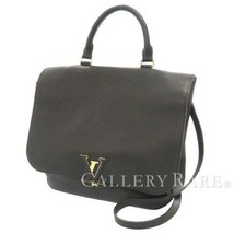 LOUIS VUITTON Volta Taurillon Leather Noir Shoulder Bag M50255 Authentic... - $1,840.00