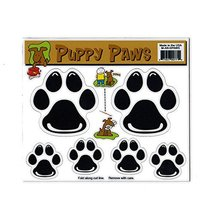 Refrigerator Magnet - Variety Pack (6 Magnets) - Dog Paws (Puppy) - Deco... - $7.99