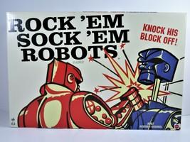 Rock Em Sock Em Robots Mattel Game Complete 2014 In Original Box DHW37  - $22.18