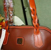 Dooney & Bourke Domed Pebble Leather Shoulder Bag image 5
