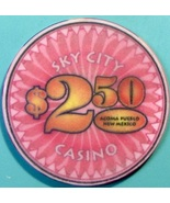 $2.50 Casino Chip, Sky City, Acoma, NM. V37. - $5.50