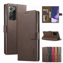 For Samsung Note 20 S20 Ultra S10 Wallet Case PU Leather Flip Card Slots Cover - $64.71