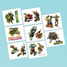 Teenage Mutant Ninja Turtles Birthday Party 16 Tattoos Favors Loot - $2.70 CAD
