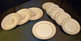 Stoneware Cumberland Mayblossom Dessert Plate by Hearthside AA-192035-A Vintage image 2