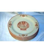 "Sangostone 1992 Coquille #3664  Salad Plate 7 1/2"" - $3.14"