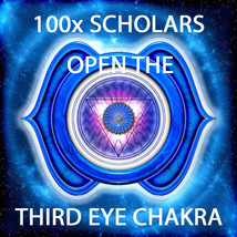 100X 7 SCHOLARS WORK OPENING 3RD EYE CHAKRA FOR SIGHT MAGICK RING PENDANT - $109.77