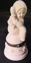 "Snowbabies I'll Ring for You Trinket Box Department 56 3""1/2 tall - $10.00"