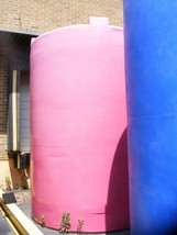 """6,500 Gallon Vertical Poly Storage Tanks 8'6"""" dia by 12' 6"""" Tall in NJ - $6,500.00"""
