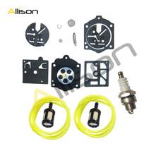 Walbro K10-HDC Carburetor Carb Kit &Fuel Line Fit Stihl 015 015AV 015L 15AVE - $6.36