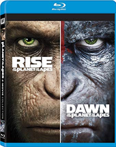 Rise Of The Planet Of The Apes + Dawn Of The Planet Of The Apes  [Blu-ray]