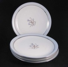 Vintage Noritake Bluebell Blue Bell Salad Plates(4) #5558 Circa 1950's - $15.00