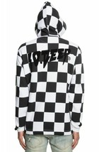 NWT 10 DEEP Sound & Fury Open Bottom Checker Print Hoodie Sweatshirt XL ... - $157.80