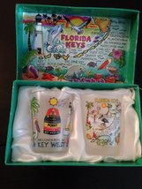 "Collector Shot Glass Set ""Florida Keys"" Made in China image 3"
