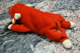 "Vintage Ty Beanie Babies Snort "" The Bull "" Hang Tag/Tush Tag 1995 PVC Pellets image 2"