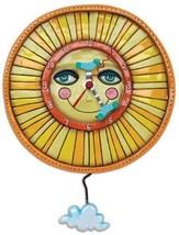 Allen Designs Sunny Skies Pendulum Childs Kids Whimsical Wall Clock - $54.00