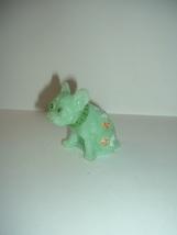 Westmoreland Collectors Green Mini Bulldog Handpainted Artist Signed E B... - $34.99