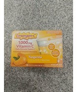 Emergen-C 30 packets Tangerine immune support vitamin c emergenc immunity - $13.85
