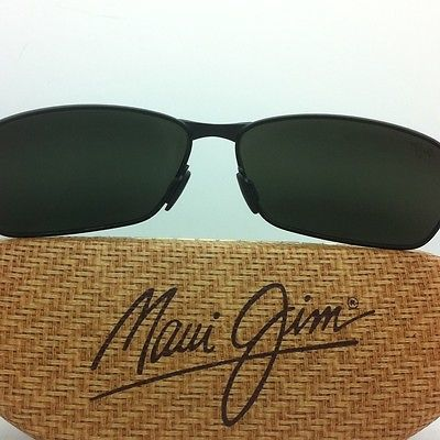 6ce42500cf3 MAUI JIM Sunglasses BLACK CORAL MJ 249-2M Black Frames w  Grey Polarized  Lenses