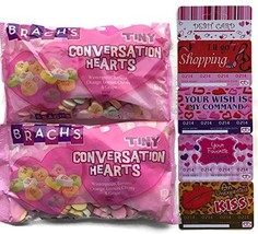Brach's Conversation Hearts 16 oz bag (pack of 2) including Playful Love... - $38.07