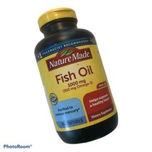 Nature Made Fish Oil 1000 mg With 300 mg Omega-3 For Heart Health - 250 ... - $11.73