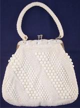 Vintage Hand Made Beaded Purse Handbag Hong Kong MCM 1950s 1960s - $19.99