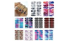 Monalisa Nail Polish Appliqués Full Nail Art Designs Sticker (10 sets)