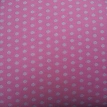 """Vintage Fabric 1970's 1960's Pink Design Stretch Polyester 58""""x112"""" - $49.49"""