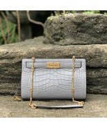 Tory Burch Lee Radziwill Embossed Shoulder Bag - $508.00