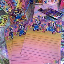 Lisa Frank PANDA PAINTER HOLLYWOOD BEAR lot Stickers Stationery Notecard Etc Mor image 8