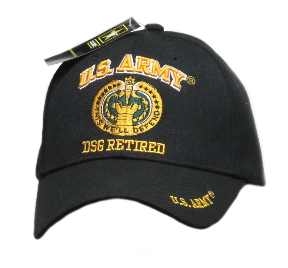 United States Army Drill Sergeant Retired Cap and 50 similar items dbb4c17ccf29