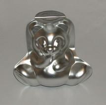 Panda Bear Cake Mold Pan Teddy Wilton 3D 3 pieces Metal Vintage - $10.85