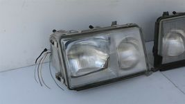 86-93 Mercedes W124 260E 300E 300D 300TE 400E Euro E-Code Headlight Lamps Set LR image 3