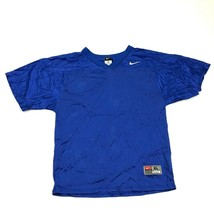 NIKE Scrimmage Football Jersey Youth Size Extra Large Royal Blue Kids To... - $21.18