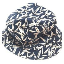 H&M Bucket Hat Reversible Navy and Tan - $14.84