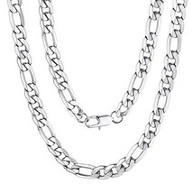 """Figaro Necklace Chain for Men Gift 30"""" 9mm Long Rapper Party Chain - $17.28"""