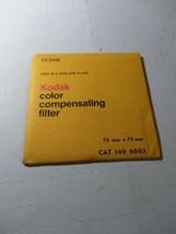 Kodak color compensating Filter  CC20G 75x75mm 1496603 NEW - $19.17