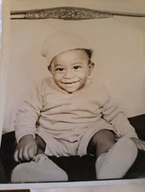 Vintage Photo African American Baby Boy Big Smile - $14.80