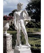 "58"" Large David Garden Statue Sculpture by Michelangelo Replica Reproduc... - $395.01"