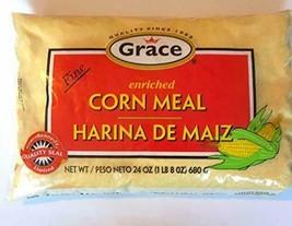 Grace Enriched Cornmeal (Fine) 28oz - $6.44