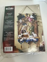 Christmas Bucilla Felt Applique Kit - Manger Wall Hanging - Nativity Holy Family - $84.14