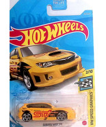 Hot Wheels Subaru Impreza WRX STi Hatchback Yellow 68/250 1/64 2021 D Case - $8.90