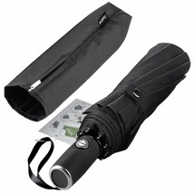 Anntrue Windproof Travel Umbrella With Teflon Coating,Auto Open Close Li... - $19.79