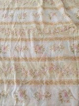 RALPH LAUREN Rare Rupert Linen King Flat Sheet Floral - $60.78